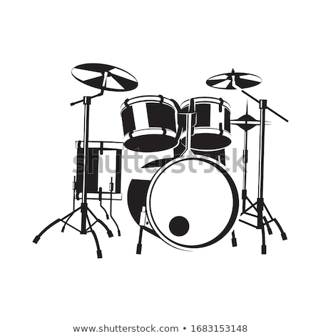 Drum Kit  Stock photo © Dazdraperma