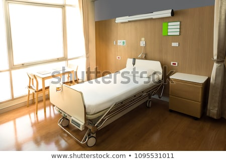 modern bed in a hospital stock photo © pxhidalgo
