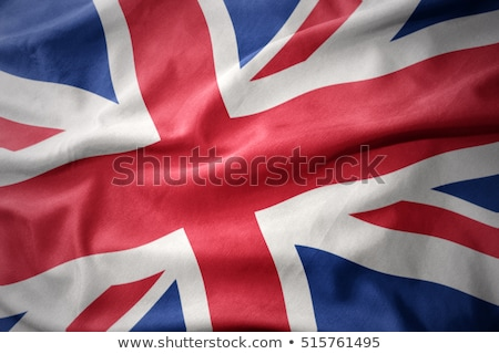 sevmek · büyük · britanya · genç · bayrak - stok fotoğraf © Lynx_aqua