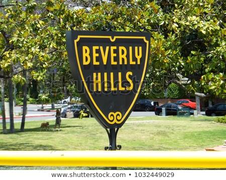 Hills assinar rodeio conduzir ver Los Angeles Foto stock © weltreisendertj