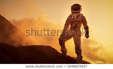 Astronaut on Mars Stock photo © Spectral