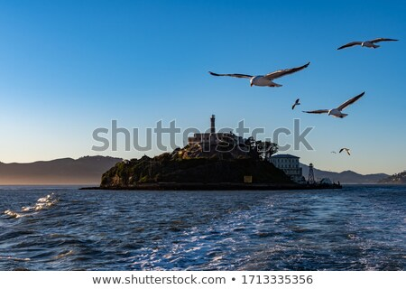 Stock photo: San Francisco Alcatraz Penitenciary California