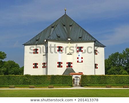 summer residence Hvezda, Prague, Czech Republic Stock photo © phbcz