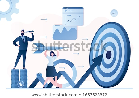 data management concept   hit target stock photo © tashatuvango