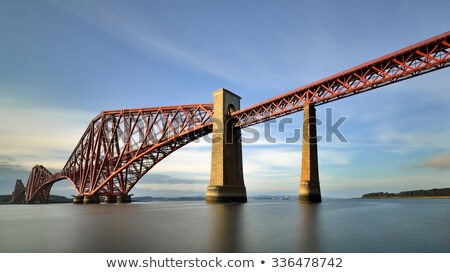 forth bridges in edinburgh scotland stock photo © lightpoet