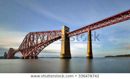 Zdjęcia stock: Forth Bridges In Edinburgh Scotland