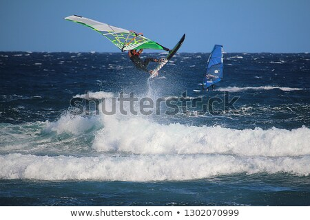 windsurfer, Tenerife, Canary Islands, Spain Stock photo © phbcz