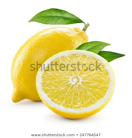Two fresh lemons Stock photo © raphotos