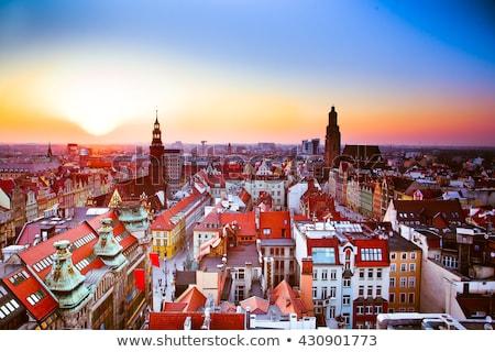 Main Market Square, Wroclaw, Silesia, Poland Stock photo © phbcz
