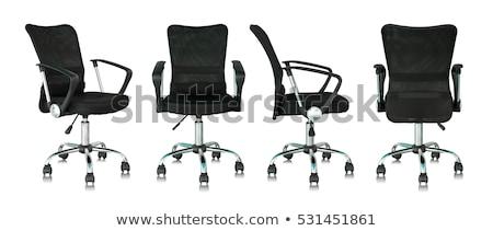 modern · ofis · koltuğu · yalıtılmış · beyaz · iş · sanayi - stok fotoğraf © anterovium