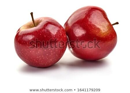 Foto stock: Rojo · príncipe · manzanas · frescos · maduro
