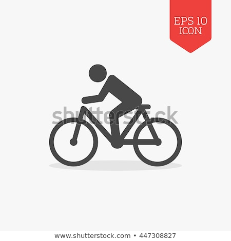 Bicycle Riders Abstract Stock photo © 2tun
