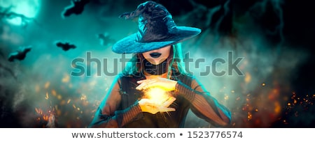 Magician girl Stock photo © adrenalina