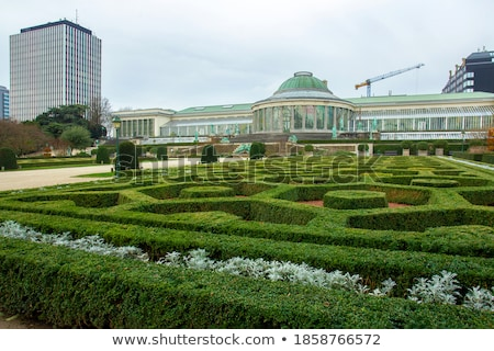 Botanical garden greenhouse, Brussels Stock photo © Ionia
