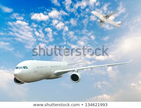 havaalanı · lojistik · teslim · poster · yönetim · ticari - stok fotoğraf © tracer