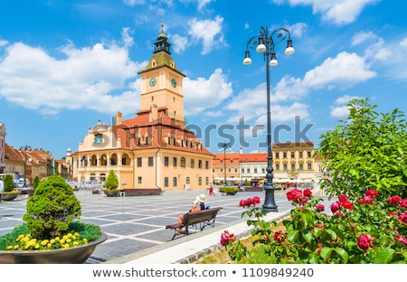 Architecture in Brasov Stock photo © igabriela