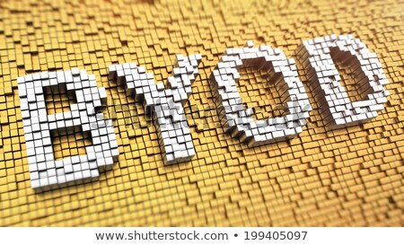 BYOD Words in Perspective Stock photo © mhristov