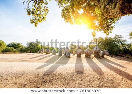 岩 宗教 文化 宗教 古代 ポルトガル ストックフォト © compuinfoto