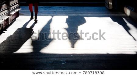 Ordinary woman walking down the street Stock photo © stevanovicigor