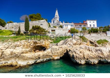 oude · binnenstad · Kroatië · kust · Europa · stad · straat - stockfoto © vlaru