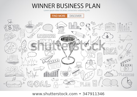 visie · ontwikkeling · vooruitgang · workflow · doel - stockfoto © davidarts