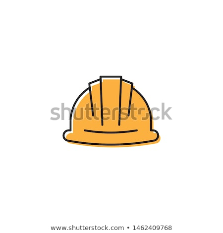 işçi · dikkat · imzalamak · ince · hat · ikon - stok fotoğraf © rastudio