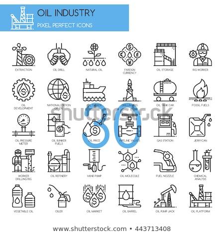 lijn · icon · hoeken · web · mobiele · infographics - stockfoto © rastudio