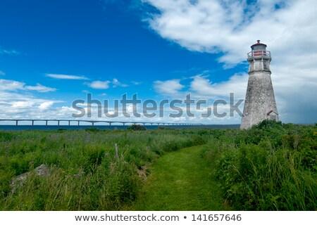 Cape Jourimain lighthouse in New Brunswick Stock photo © elenaphoto