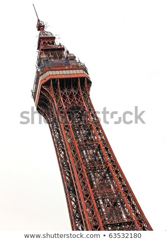 Top of the Blackpool tower Stock photo © photohome