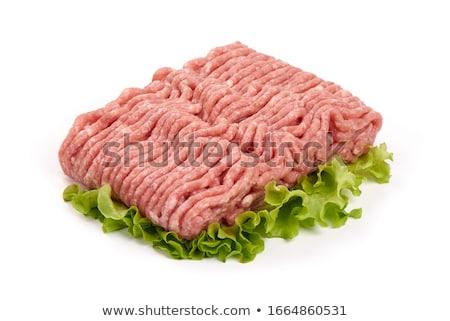 Fresh minced meat stock photo © Digifoodstock