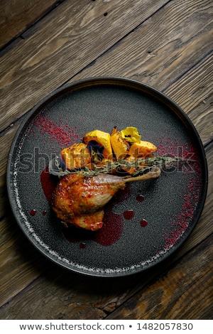 Roast duck leg with dumplings  Stock photo © Digifoodstock
