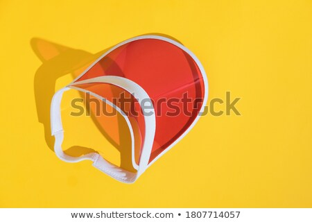 A topview of a red tube Stock photo © bluering