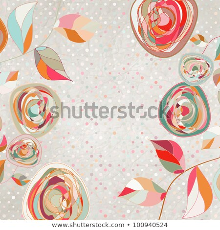 Vintage Card or package design. EPS 8 Stock photo © beholdereye
