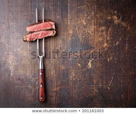 succosa · bistecca · vitello · carne · carne · pomodoro - foto d'archivio © kalinich24