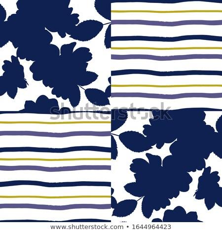 Vector Seamless Golden Shades Horizontal Stripes Pattern Stock photo © CreatorsClub