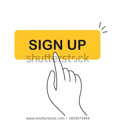 hand cursor clicking leads button stock photo © ivelin