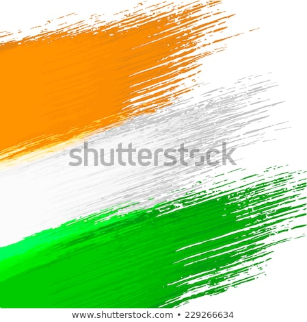old paper indian flag vector design illustration stock photo © sarts