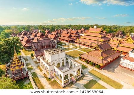 дворец Мьянма ориентир здании город Сток-фото © cozyta