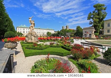 forteresse · Autriche · ciel · soleil · Voyage · bâtiments - photo stock © frimufilms