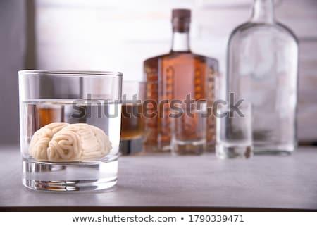 Alcohol haak beïnvloeden dranken groep flessen Stockfoto © Lightsource