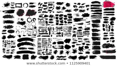Mürekkep sıçramak toplama vektör doku tıbbi Stok fotoğraf © SArts