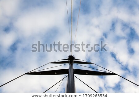 Mast and rigging on yacht Stock photo © backyardproductions