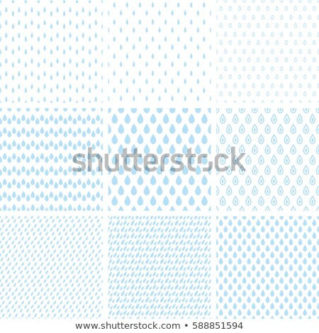 Blue drops seamless pattern Stock photo © pakete