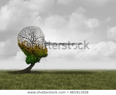 Climate Change Denier Concept Stock photo © Lightsource