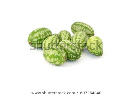 Foto stock: Group Of Cucamelons Or Mexican Sour Gherkins