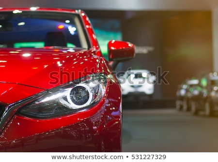 Fej lámpák régi autó autó terv lámpa Stock fotó © Nobilior