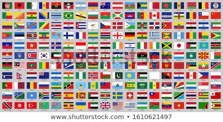Grecia bandiera mappa illustrazione 3d greco banner Foto d'archivio © Harlekino
