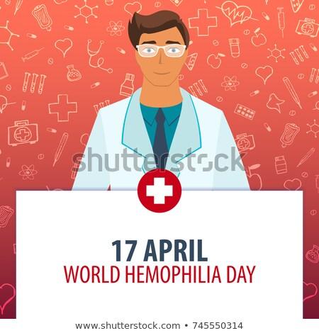 17 April World Hemophilia Day Stock photo © Olena