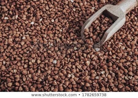 raw buckwheat groats Stock photo © Digifoodstock