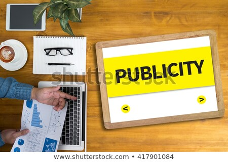 Publicity Agency Keypad. Stock photo © tashatuvango